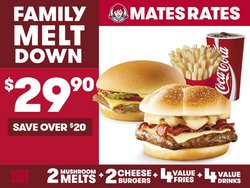 Restaurants offers in the Wendy's catalogue ( Expires tomorrow)