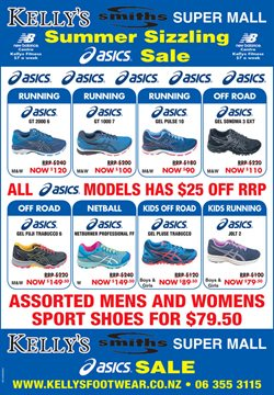 Offers from Kelly's Footwear in the Wellington special