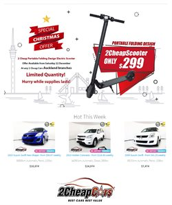 Cars, motorcycles & spares offers in the 2Cheap Cars catalogue in Rolleston
