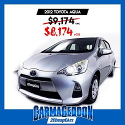 Offers from 2Cheap Cars in the Auckland special