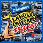 Cars, Motorcycles & Spares offers in the 2Cheap Cars catalogue in Auckland ( Expires today )