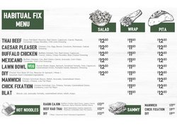 Restaurants offers in the Habitual Fix catalogue ( 5 days left)