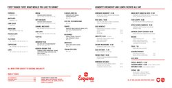 Restaurants offers in the Esquires Coffee catalogue ( 4 days left)