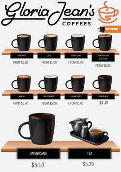 Gloria Jean's Coffees offers in the Gloria Jean's Coffees catalogue ( 16 days left)