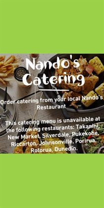 Offers from Nando's in the Auckland special