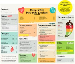 Offers from Nando's in the Wellington special