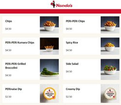 Restaurants offers in the Nando's catalogue ( Expires tomorrow)