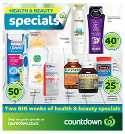 Offers from Countdown in the Auckland special