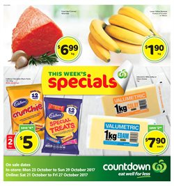 Offers from Countdown in the Lower Hutt special