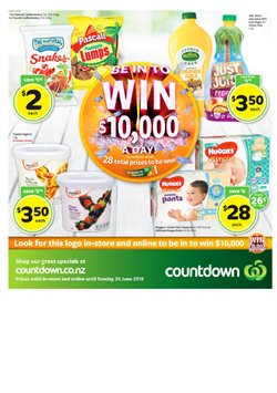 Offers from Countdown in the Paraparaumu special