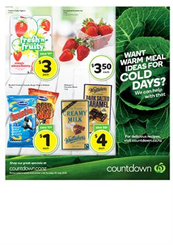 Grocery & Liquor offers in the Countdown catalogue in Auckland