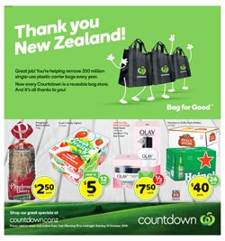 Offers from Countdown in the Christchurch special