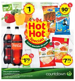 Offers from Countdown in the Palmerston North special