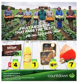 Grocery & Liquor offers in the Countdown catalogue in Carterton