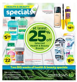Offers from Countdown in the Hamilton special