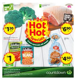 Supermarkets offers in the Countdown catalogue in Auckland
