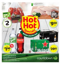 Supermarkets offers in the Countdown catalogue in Hamilton