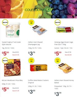 Supermarkets offers in the Countdown catalogue in Auckland ( 3 days left )