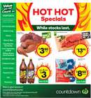 Supermarkets offers in the Countdown catalogue ( Expires today )
