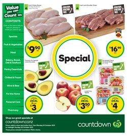 Supermarkets offers in the Countdown catalogue ( 2 days left)