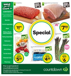 Supermarkets offers in the Countdown catalogue ( Published today)