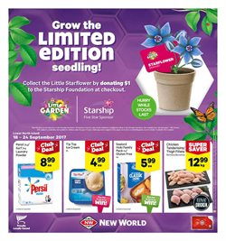 Offers from New World in the Hastings special