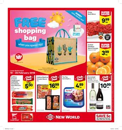 Offers from New World in the Wellington special