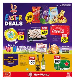 Grocery & Liquor offers in the New World catalogue in Carterton