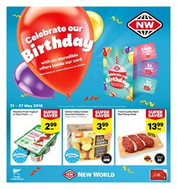 Offers from New World in the Rolleston special