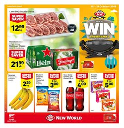 Grocery & Liquor offers in the New World catalogue in Paraparaumu