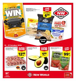 Offers from New World in the Christchurch special