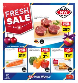 Offers from New World in the Alexandra special