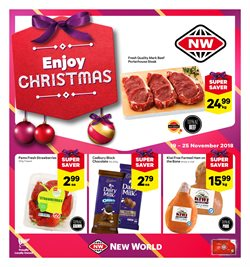 Grocery & Liquor offers in the New World catalogue in Motueka