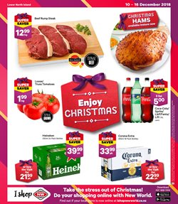 Offers from New World in the Palmerston North special