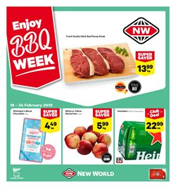 Grocery & Liquor offers in the New World catalogue in Rolleston