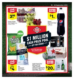 Supermarkets offers in the New World catalogue in Carterton