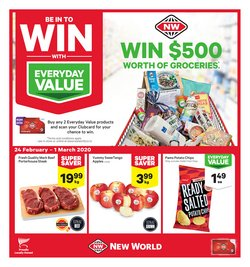 New World catalogue in Christchurch ( Expires tomorrow )