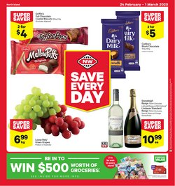 Supermarkets offers in the New World catalogue in Palmerston North ( 3 days left )
