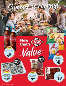 Supermarkets offers in the New World catalogue ( 6 days left)