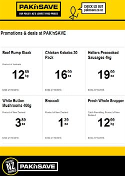 Grocery & Liquor offers in the Pak n Save catalogue in Auckland