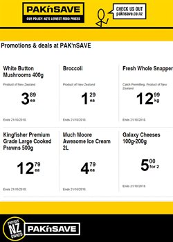 Grocery & Liquor offers in the Pak n Save catalogue in Mount Maunganui