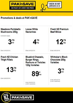 Grocery & Liquor offers in the Pak n Save catalogue in Rolleston