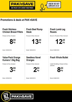 Supermarkets offers in the Pak n Save catalogue in Auckland