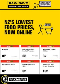 Pak n Save catalogue in Auckland ( Expires tomorrow )