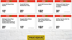 Supermarkets offers in the Pak n Save catalogue ( 2 days ago )