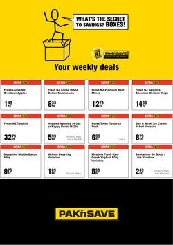 Pak n Save catalogue ( 2 days left)