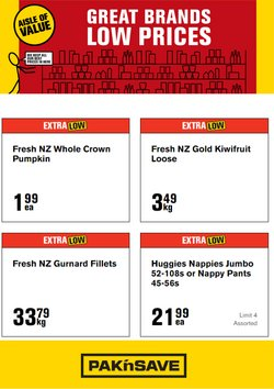 Pak n Save offers in the Pak n Save catalogue ( Expired)