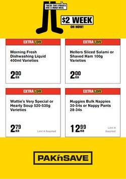 Pak n Save offers in the Pak n Save catalogue ( 4 days left)