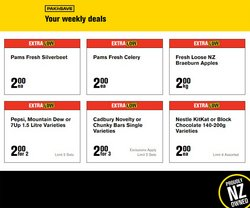 Supermarkets offers in the Pak n Save catalogue ( 8 days left)