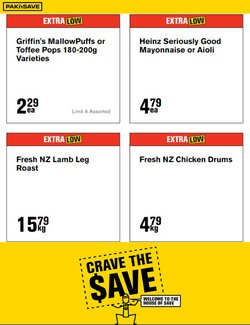 Supermarkets offers in the Pak n Save catalogue ( Expires tomorrow)
